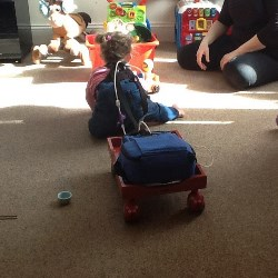 Victoria and her trolley
