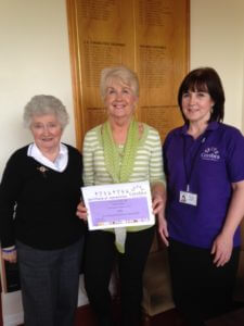 Maria Wilson with some of the ladies from Altrincham golf club