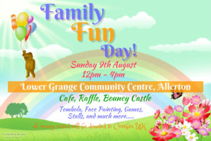 Poster for the fun day
