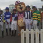 Jockeys with Sir E. Bear