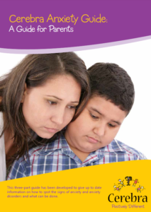 Our three part Cerebra Anxiety Guide: A Guide for Parents has been developed to give up to date information on how to spot the signs of anxiety and anxiety disorders in children with an intellectual disability and looks at what can be done to help.