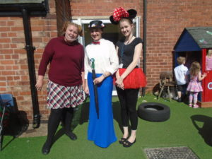 Staff at Shaping Futures Day Nursery during their dress up day