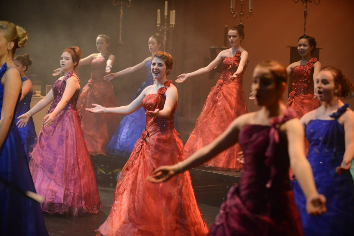 Angelicus Celtis during one of their shows