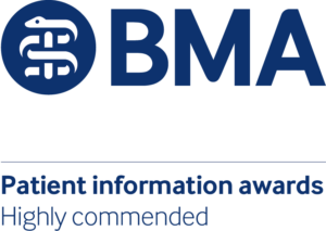 BMA Patient information awards_highly commended