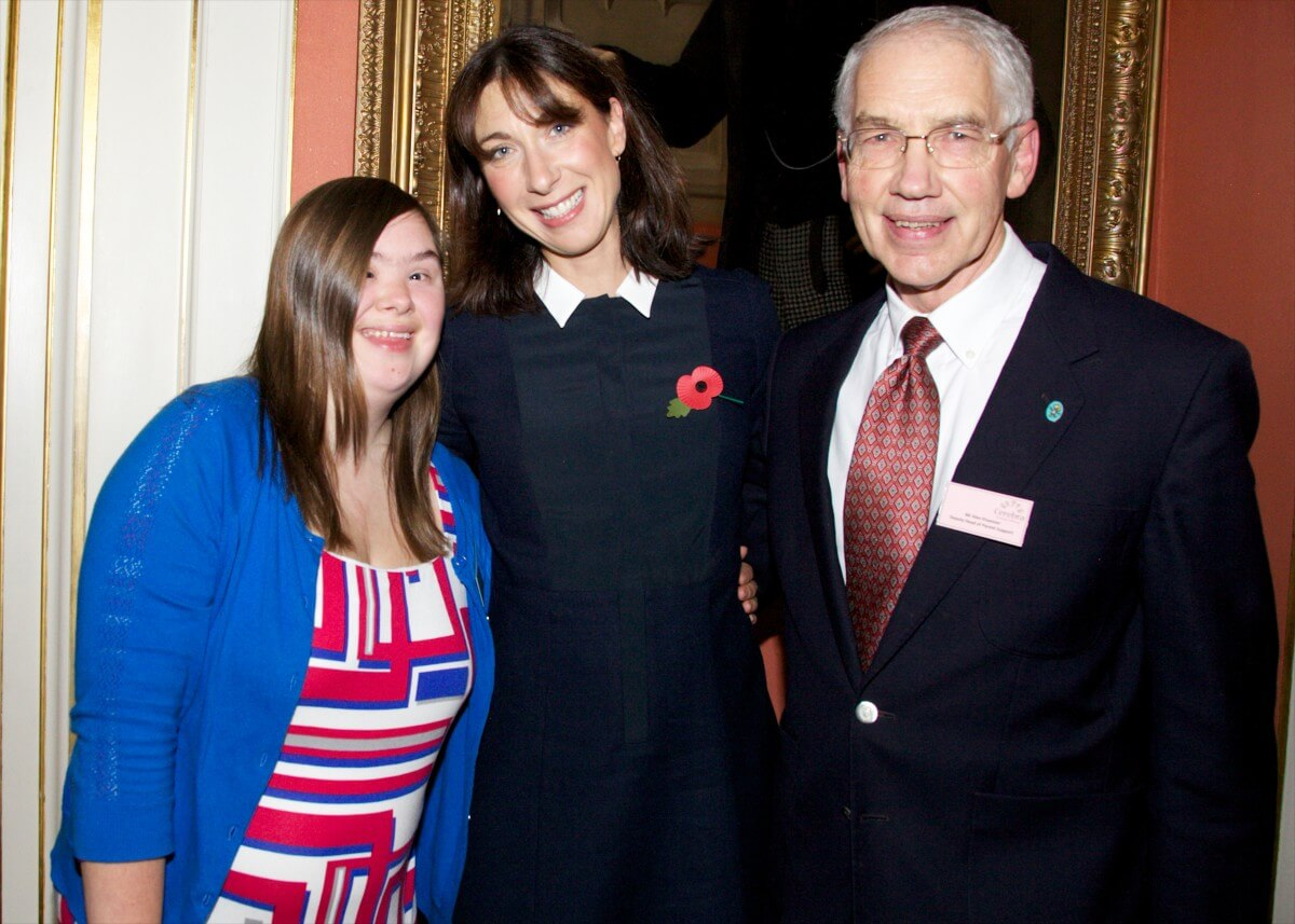 Alissa at 10 Downing Street