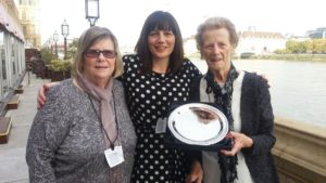 Lyn Palfreyman and Betty Blyth with Box Co-ordinator Melanie Clark