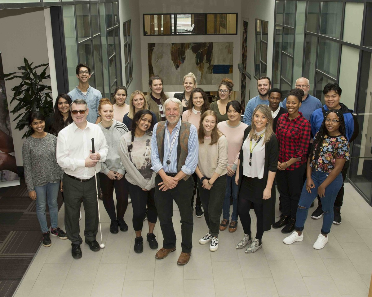 The school of law team at the University of Leeds