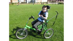 James on his trike