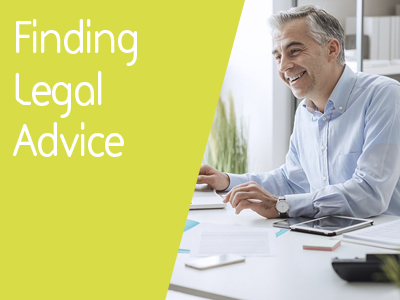 Finding legal advice