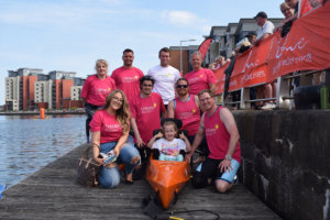 Team Imogen at the Swansea triathlon