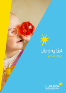 sensory toy list cover