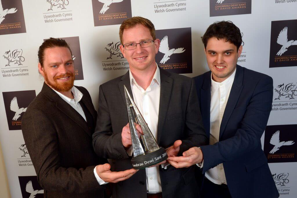 Cerebra Innovation Centre wins award.