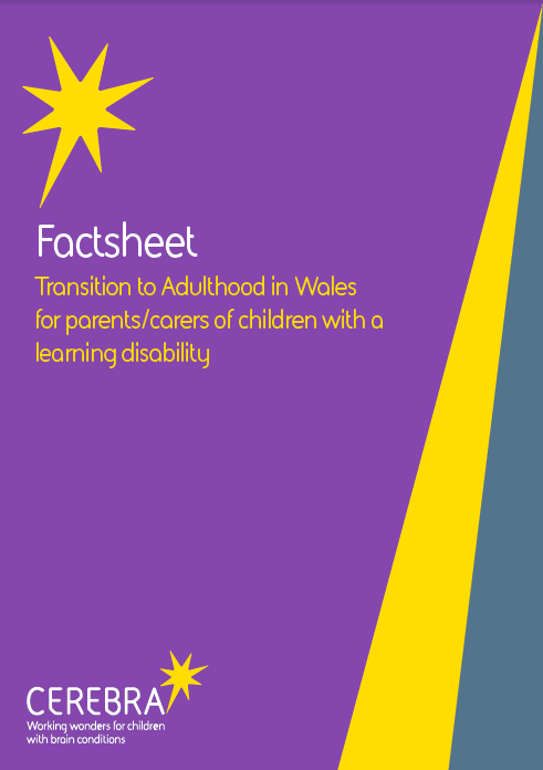 Factsheet - Transition to Adulthood in Wales - Cerebra the charity for children with brain conditions