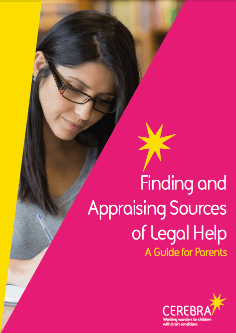 Finding and Appraising Legal Help - Cerebra the charity for children with brain conditions