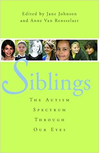 book cover - Siblings AS through our eyes