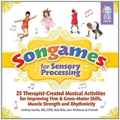 book cover - Songames sensory processing