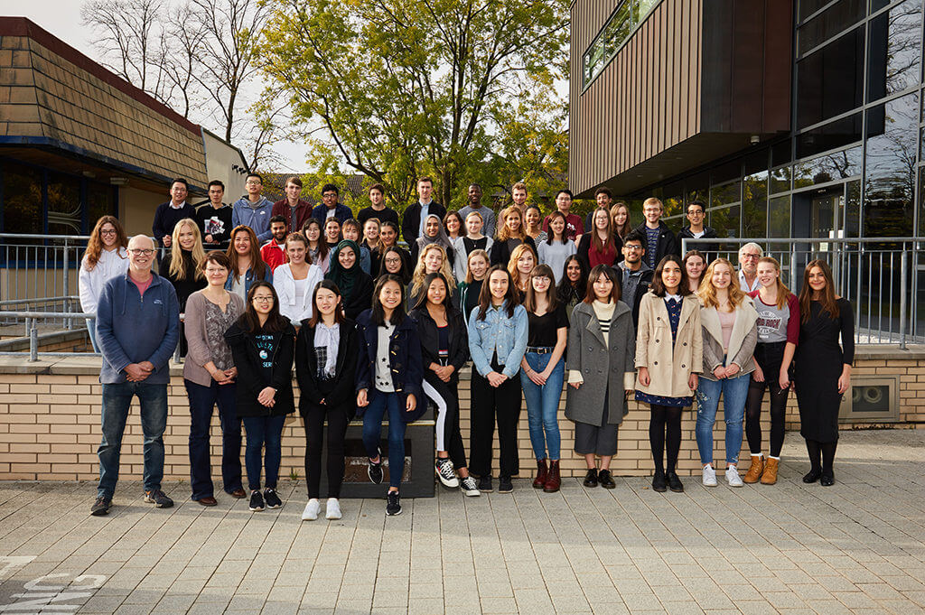 University of Leeds LEaP students and staff.