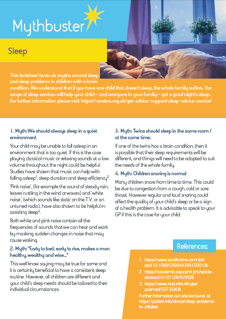 Sleep mythbuster