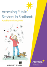 Accessing Public Services in Scotland - A problem-solving toolkit - Cerebra - children with brain conditions.