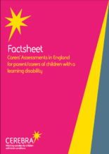 Factsheet - Carers Assessments in England - Cerebra the charity for children with brain conditions