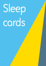 Sleep Cards - Cerebra for children wi.th brain conditions