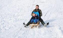 Disabled child's sledge.