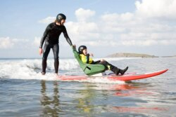 Surfboard, Cerebra the charity for families of children with brain conditions